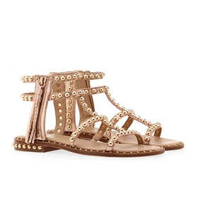 ASH Power Women's Sandals - Rame ( Gold Studs )