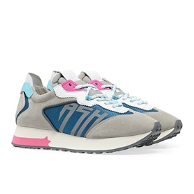 Scarpe Donna ASH Tiger - Grey White Blue Azur