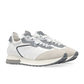 ASH Tiger Women's Shoes - Silver White White Silver
