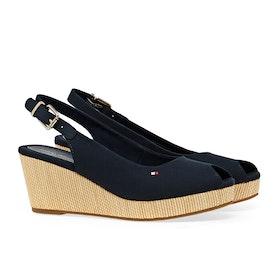 Tommy Hilfiger Iconic Elba Sling Women's Sandals - Desert Sky
