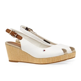 Tommy Hilfiger Iconic Elba Sling Women's Sandals - Ivory