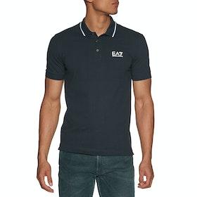Рубашка поло EA7 Short Sleeve - Night Blue