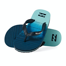 Billabong Tides Print Sandals - Navy