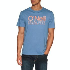 O'Neill Logo Short Sleeve T-Shirt - Walton Blue