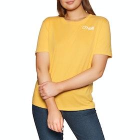 O'Neill Selina Graphic Womens Short Sleeve T-Shirt - Golden Rod