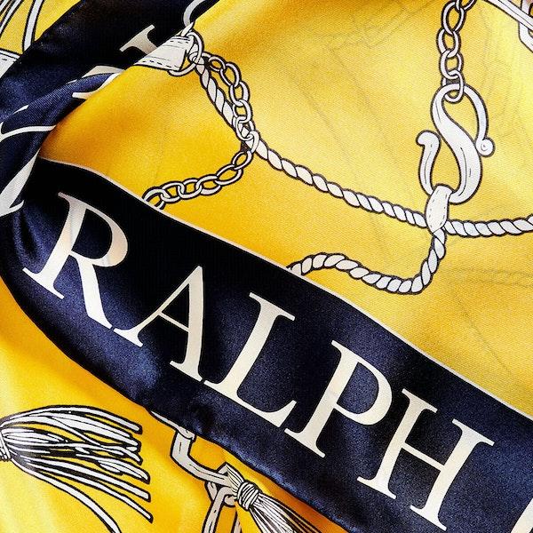 Lauren Ralph Lauren Angelina Square Silk Женщины Шарф
