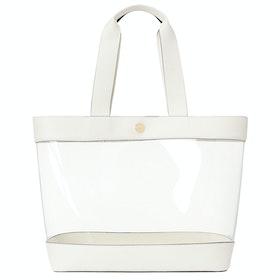 Lauren Ralph Lauren Harper 35-tote-medium Damen Einkaufstasche - Clear Van