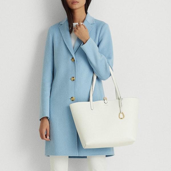 Lauren Ralph Lauren Reversible Tote Medium Dames Shopper Tas
