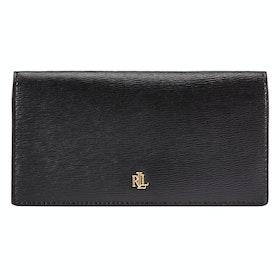 Бумажник Женщины Lauren Ralph Lauren Slim Medium - Black