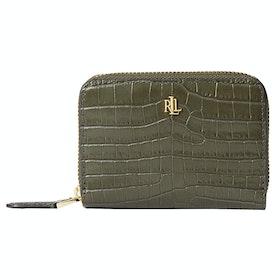 Бумажник Женщины Lauren Ralph Lauren Small Zip - Green