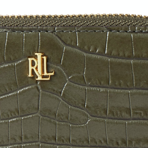 Carteira Senhora Lauren Ralph Lauren Small Zip