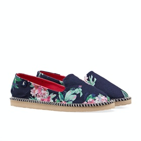 Joules Flipadrille Womens Espadrilky - Navy Floral