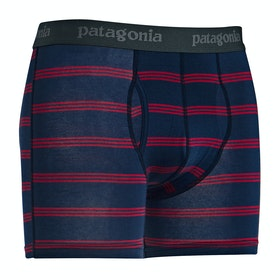 Shorts boxer Patagonia Essential 3 - Pier Stripe New Navy