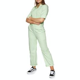 Dickies Rego Park Womens Jumpsuit - Mint
