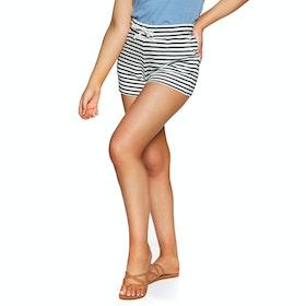 O'Neill Lw Angel Beach Shorts Womens Shorts - White Black