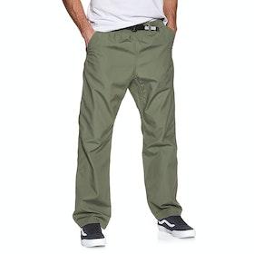 Pantalon Cargo Carhartt Clover Pant - Dollar Green Rinsed