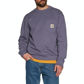 Sweat Carhartt Pocket - Decent Purple