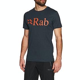 Rab Stance Logo Short Sleeve T-Shirt - Beluga