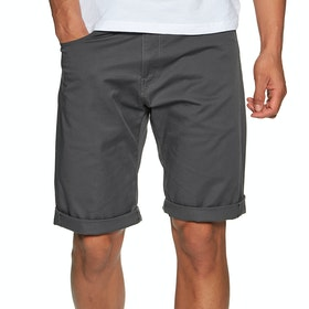 Carhartt Swell Spazier-Shorts - Blacksmith Rinsed