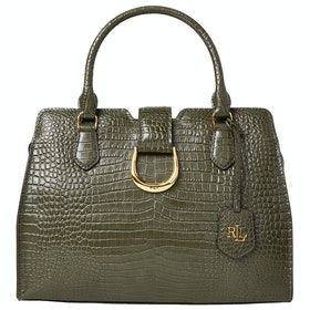 Lauren Ralph Lauren City Medium Satchel - Green