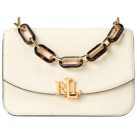 Lauren Ralph Lauren Madison 22-crossbody-medium Women's Messenger Bag - Cream