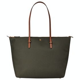 Lauren Ralph Lauren Keaton 31-tote-medium Women's Shopper Bag - Green