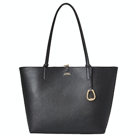 Lauren Ralph Lauren Reversible Tote Medium Women's Shopper Bag - Blk Chain