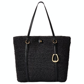 Lauren Ralph Lauren Tote-tote-medium Women's Shopper Bag - Black