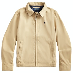 Polo Ralph Lauren Water-Resistant Twill Boy's Jacket - Classic Khaki
