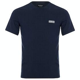 Barbour International Small Logo T Shirt - International Navy