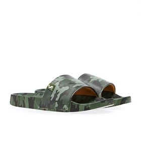 Joules Jnr Poolside Boy's Sandals - Green Camo