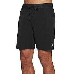 Shorts de Bain Hurley Phantom Alpha 18' - Black