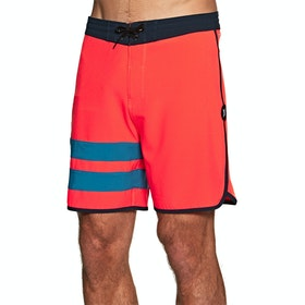 "Hurley Phantom Block Party 18"" Boardshorts - Bright Crimson"