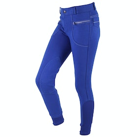 QHP Elvana Childrens Riding Breeches - Royal Blue