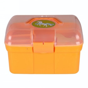 QHP Pony Power Grooming Box - Orange