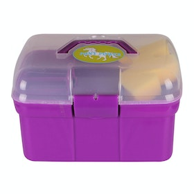 QHP Pony Power Grooming Box - Purple