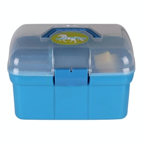 QHP Pony Power Grooming Box - Sky
