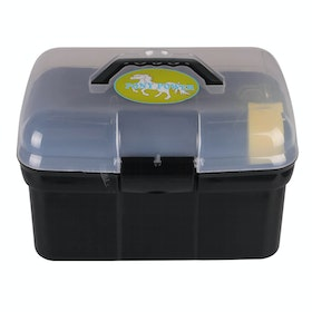 QHP Pony Power Grooming Box - Black