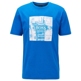 BOSS Graphic Logo Top - Navy