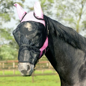 Moskitiera QHP Detachable Nose Flap - Pink