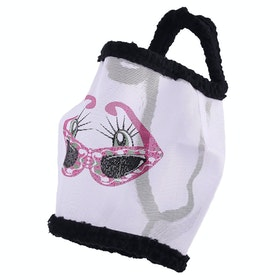 QHP Funny Fly Mask - White Black
