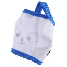 QHP Funny Fly Mask - White Blue