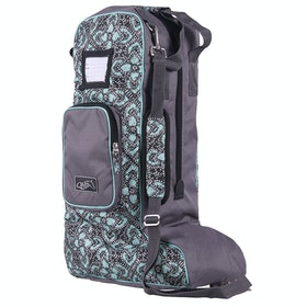 Boot Bag QHP Collection Large - Pacific Flowers