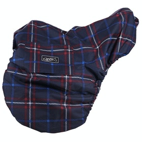 QHP Collection Water Repellent Saddle Cover - Nautical