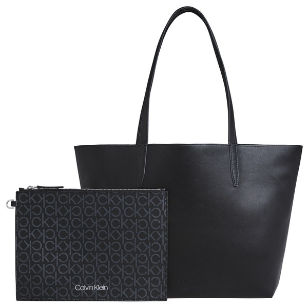 Calvin Klein Mono Shopper Md Shopper Tas
