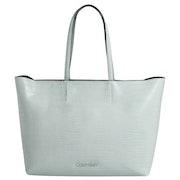 Calvin Klein Must Shopper Md Croc Shopper Tas