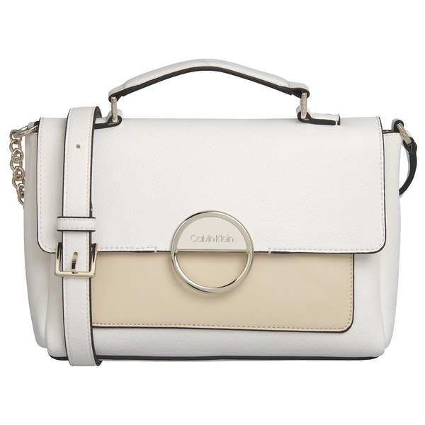 Calvin Klein Disc Top Handle Md Damen Handtasche