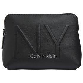Calvin Klein NY Shaped Women's Wash Bag - Black