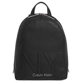 Calvin Klein NY Shaped Sm Backpack - Black