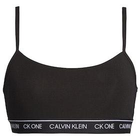 Calvin Klein CK One Bralette Bikini Top - Black